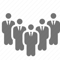 business, businessmen, department, group, people, team, team building icon