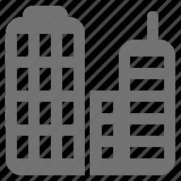 building, business, company, corporation, office, skyscraper icon