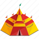 businesses, camp, camping, carnival, circus, festival, tent icon