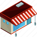 diner, food, building, restaurant, shop icon