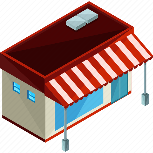 building, businesses, diner, food, restaurant, shop icon