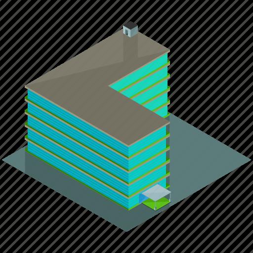 apartment, architecture, building, businesses, hotel icon