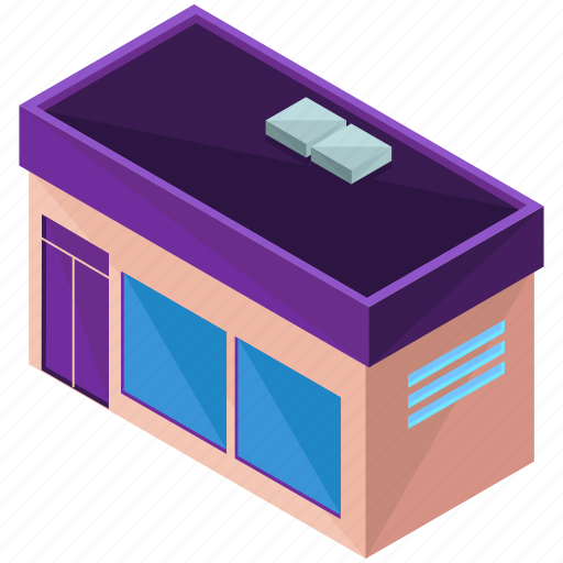 architecture, building, businesses, shop, store icon