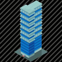 architecture, building, businesses, hotel, skyscraper icon