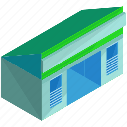 architecture, building, businesses, ecommerce, shop, store icon