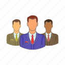 avatars, cartoon, head, men, person, sign, user icon