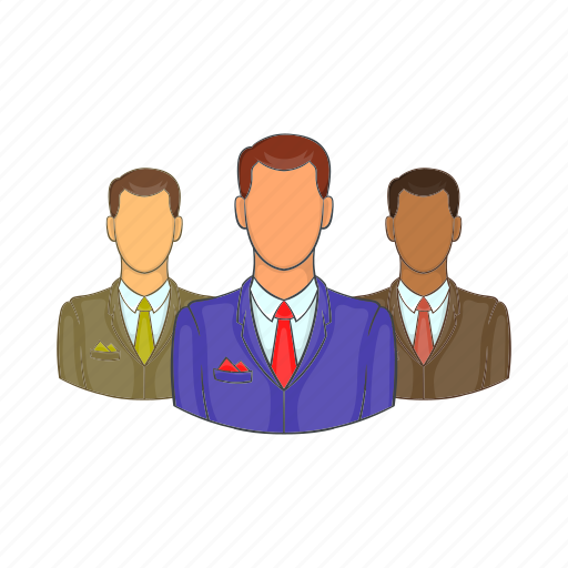 avatars, cartoon, head, men, person, sign, user icon