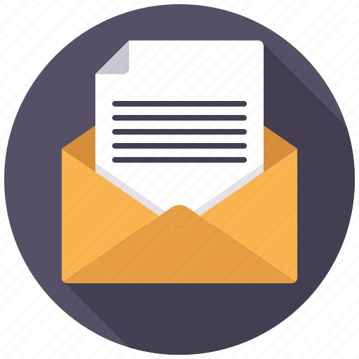 business, document, envelope, letter, mail, message, office icon