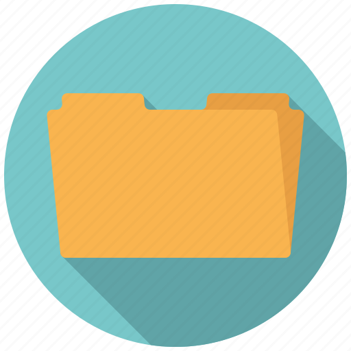 archive, business, filing, folder, manila folder, office icon