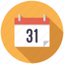 business, calendar, date, deadline, month, office, time icon