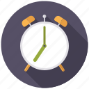 alarm clock, business, hours, office, time, timer icon