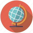 business, earth, globe, international, office, travel, world icon