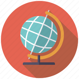 business, earth, globe, international, office, travel, world icon