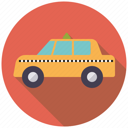 business, cab, car, motor vehicle, office, taxi, transport icon