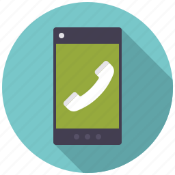 business, call, communication, mobile phone, office, smart phone, telephone icon