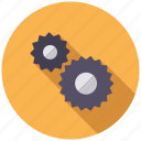 business, cogs, gears, machine, office, settings, transmission icon