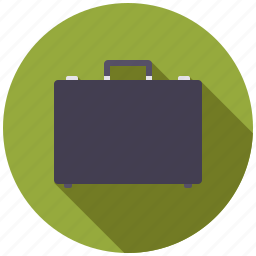 briefcase, business, office, suitcase, travel icon