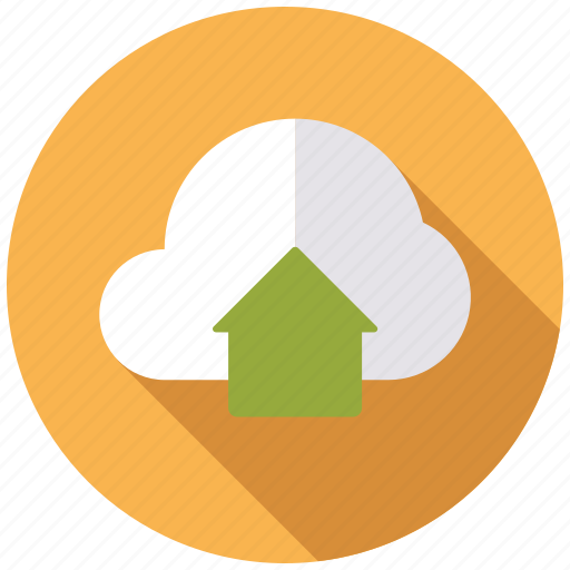 business, cloud, office, storage, uploads icon