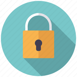 business, closed, lock, office, protection, secure, security icon
