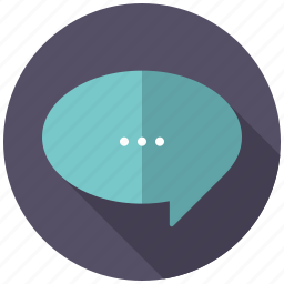 bubble, business, chat, message, office, talking icon