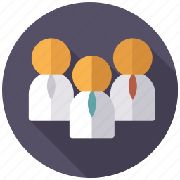business, conference, manager, office, team, teamwork, white collar icon