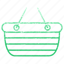 basket, buy, buying, groceries, shopping, shopping basket icon