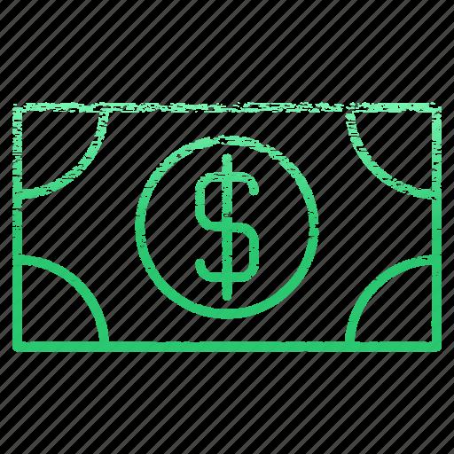cash, dollar, exchange, money, payment, price, shopping icon