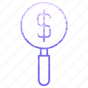 business, cash, currency, finance, money, report icon