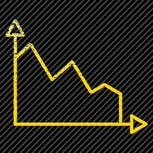 diagram, graph, seo, statistics icon