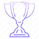 achievement, award, best, gold, prize, trophy, win icon