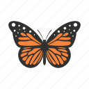 big, butterfly, decoration, nature, spring, summer, wing icon