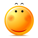 pretty, smile icon