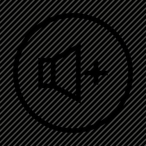 Icon button, sound, volume icon - Download on Iconfinder