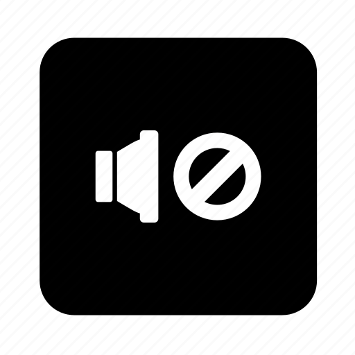 audio, mute, play, sound, speaker, video icon
