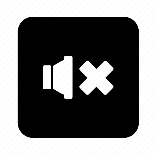 multimedia, mute, play, sound, speaker, volume icon
