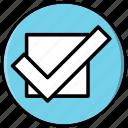 checkbox, checkmark, done icon