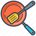 cooking, food, kitchen, kitchen ware, ladle, spatula icon