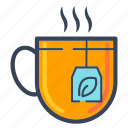 breakfast, coffee, drink, food, hot, tea icon