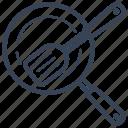 cooking, kitchen, kitchen ware, ladle, pan, scoop, spatula icon