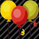balloon, celebration, decoration, event, festival, party