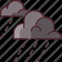 forecast, heavy rain, rain, weather