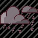 forecast, rain, sleet, snow, weather