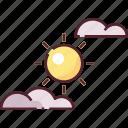 clear sky, cloud, forecast, sky, sun, weather