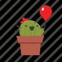 cactus, cute, kid icon
