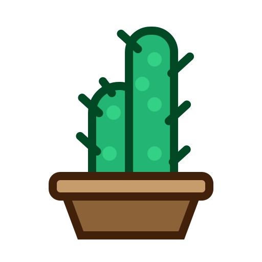 Cactus, furniture, nature, plant, tree icon - Free download
