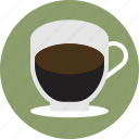 beverage, cafe, coffee, drink, espresso, shot, single icon