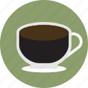 beverage, black coffee, black tea, cafe, coffee, drink, espresso icon