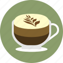 cafe, cappucchino, coffee, espresso, latte, macchiato, mochaccino icon