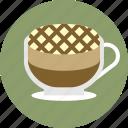 cafe, caramel, coffee, espresso, latte, macchiato icon