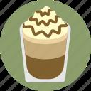cafe, cafe frappe, coffee, espresso, hot chocolate, machaccino, mocha icon